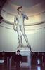 El David original ubicado en el palacio Pitti