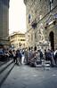 A la derecha esta el Palazzo Veccio y el camino se dirige a la plaza