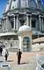 Techo de la Basílica San Pedro