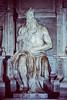 Moisés de Miguel Angel en la Iglesia de San Pedro en Cadenas