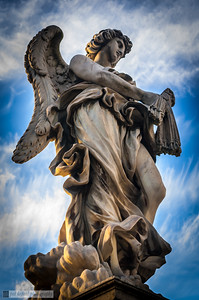 Angel with the Scourge - Ponte Sant'Angelo