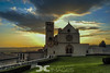 Sunset on Assisi