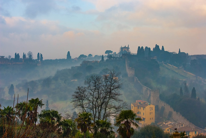 The Ancient City Wall of Florence