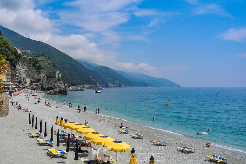 The Beach at Monterosso