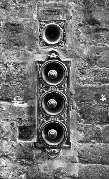 Door bells, Siena, Italy, 2010.