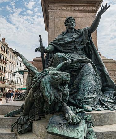 Venetian Statue, Venice Italy