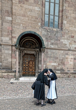 Nun Embrace