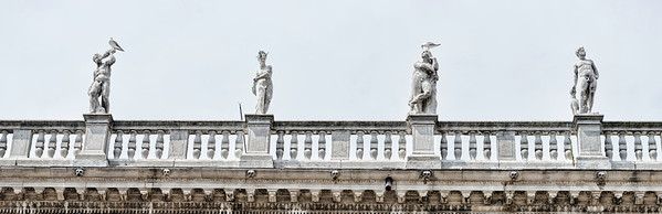 Italian architecture and statues, Venice