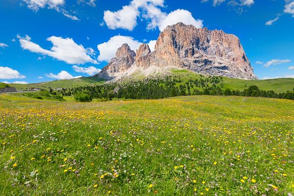 Sela Pass, Italian Dolomites