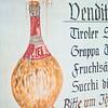 Italian wine sign