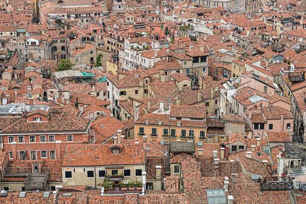 Venice Rooftops, Venice, Italy