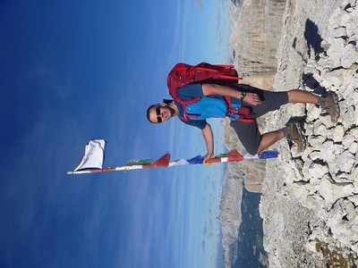 Today we reached the highest point on the AV2, Antersass at 9,514 feet!!!