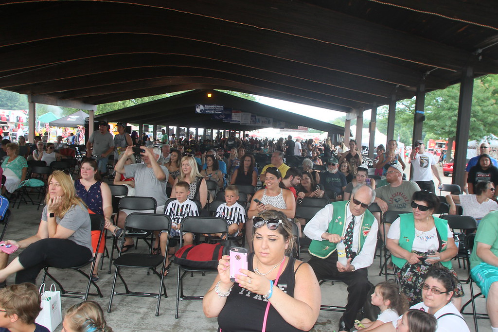 . Despite the humidity and constant threat of rain a great many folks turned out for the fun festival at Freedom Hill.