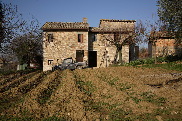 A typical Umbrian farmhouse.