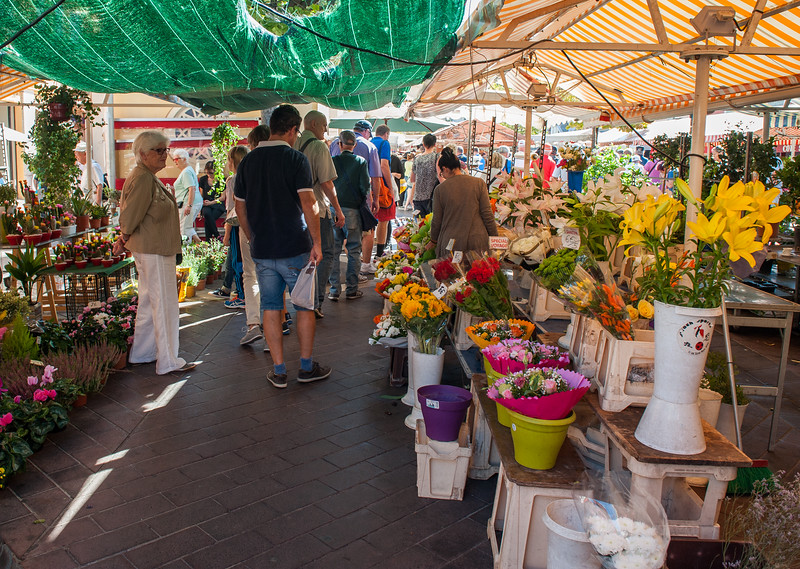 Marketplace in Nice, France