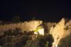 Forte del Falcone at night