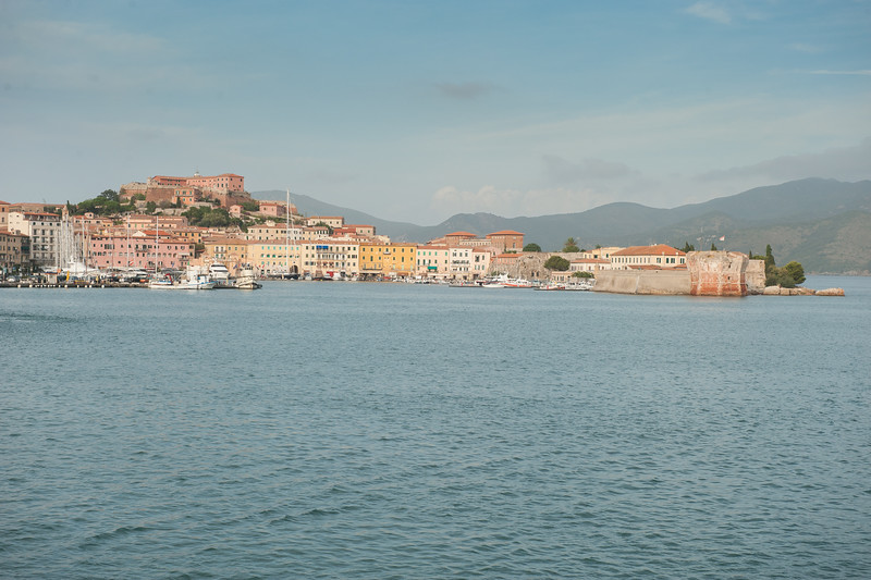Porto Nuovo Harbor, Portoferraio, Elba, Italy