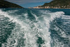 Boat ride over to town of Lerici, Italy