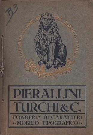 Advertising brochure, Pierallini & Turchi, Florence. 1950s.