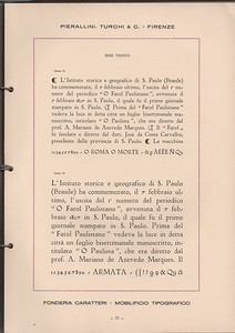 Within the catalog of Pierallini & Turchi, the Trento series, imitates Inkunabula by Nebiolo, from which it differs in some details, especially in the lower case.