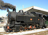 FCL 0-8-0T No 353, Cosenza, 8 September 2007.  Borsig 11949 / 1926.  The Ferrovie Calabro-Lucane is a 95cm network ithrough rugged country in southern Italy.  Part of it is equipped for rack operaton.  Here are seven photos taken over three days.