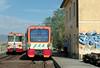 ADe 15 & ADe 23, Passo Zingaro (?), 13 September 2007 - 1052   ADe23 is working Train 10, the 1005 Randazzo - Catania Borgo.