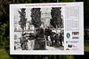 Ai nostri caduti, Brisighella, Mon 13 April 2015 2.  The poster bears this photo of the memorial in March 1945.