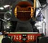 743.301, La Spezia railway museum, Sat 18 April 2015 6.  No blast pipe or chimney in the smokebox!