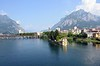 Approaching Lecco, Thurs 11 June 2015 - 1137.   Looking north towards the south eastern arm of Lake Como.