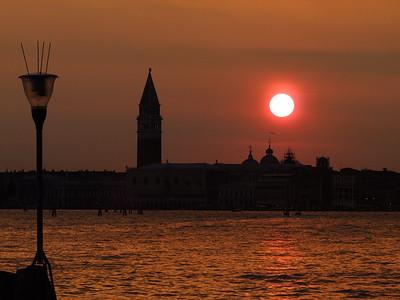 Venezia 2013 - SONNENUNTERGÄNGE
