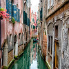 Tiny canal in Venice