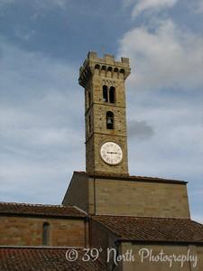Fiesole's clock tower