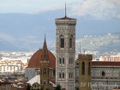 Campanile di Giotto from Piazzale Michelangelo