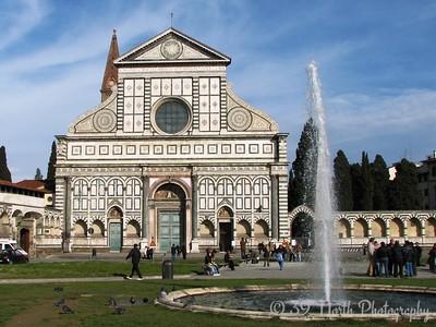 The church of Santa Maria Novella