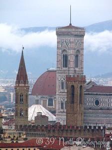 Basilica di Santa Maria del Fiore from Piazzale Michelangelo