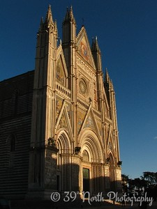 The Duomo (The cornerstone of the Duomo was laid on 13 November 1290 by Pope Nicholas IV himself. Work on the building continued for 3 centuries).