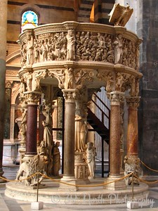 Giovanni Pisano's carved pulpit
