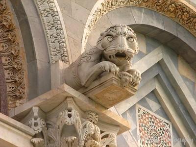 Exterior detail of the Duomo