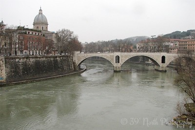 The Tevere (Tiber) River