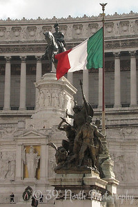 "The Monumento Nazionale a Vittorio Emanuele II (National Monument of Victor Emmanuel II) or Altare della Patria (Altar of the Fatherland) or ""Il Vittoriano"""