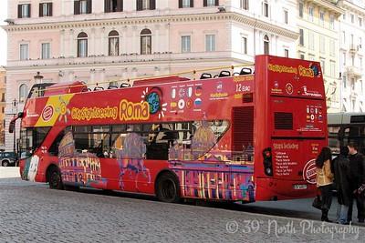 Our hop on/hop off tour bus