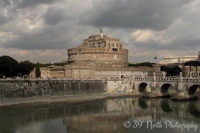 Castel Sant' Angelo (aka the Mausoleum of Hadrian)