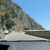 Navigating the famous blue highway between Praiano and Amalfi