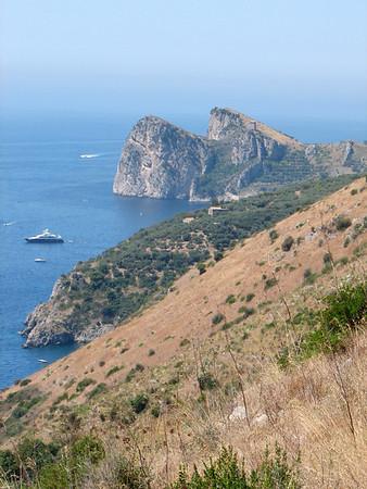 Hiking Sant'Agata to Marina del Cantone along the coast - July 15