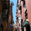 Narrow streets of Napoli
