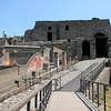 One of the entrances into Pompeii