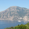 Looking back towards Positano