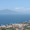 Sorrento with Mount Vesuvius in the background