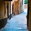 Steep City Street - Cortona, Italy