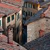 Medieval Rooftops - Cortona, Italy